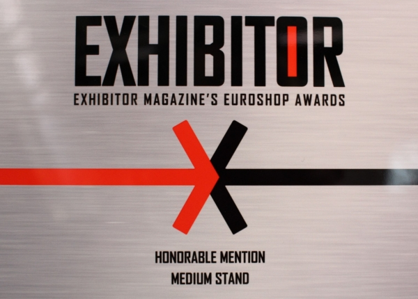 EXHIBITOR Magazine's EUROSHOP AWARD