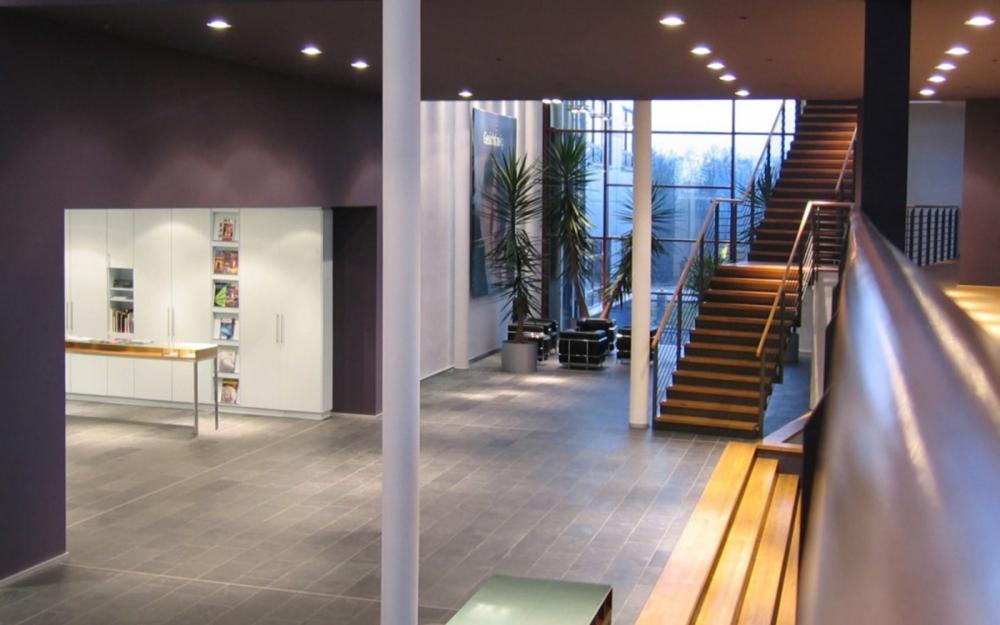Innenansicht des Atelier Damböck in Neufinsing bei München