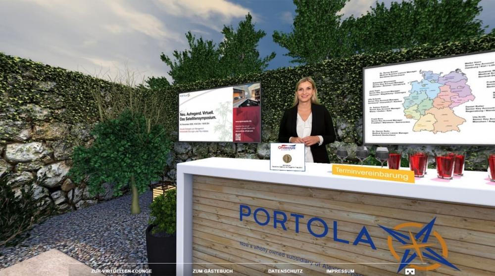 PORTOLA Virtueller Zen Garten