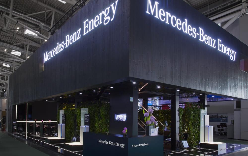 Mercedes-Benz Energy - Intersolar, München