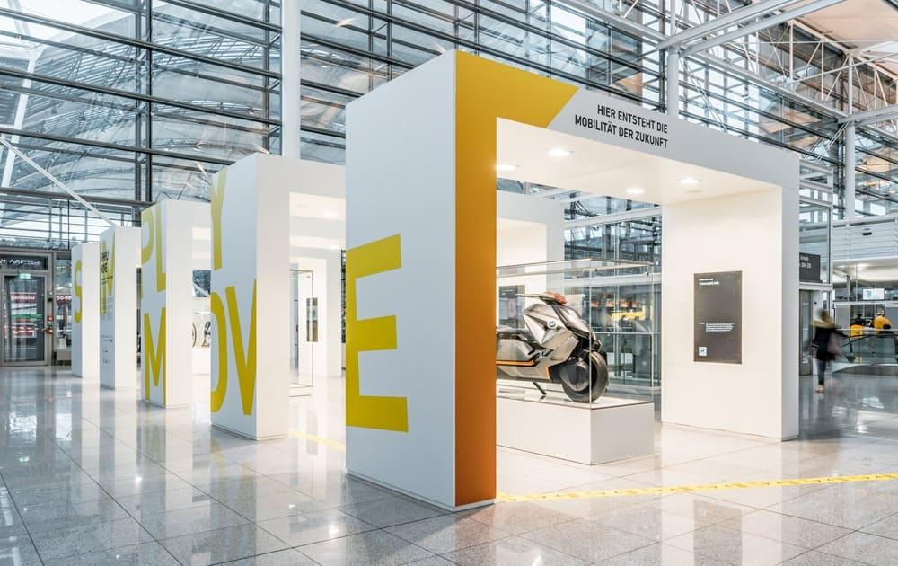 Flughafen München - Präsentationsfläche