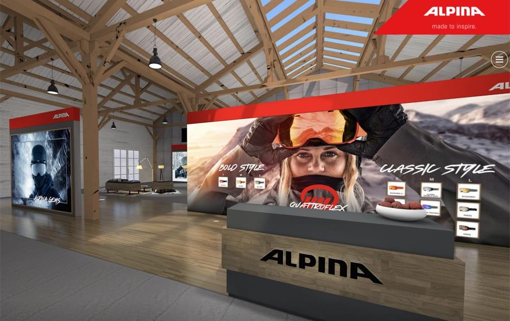 ALPINA Sports - Virtueller Showroom
