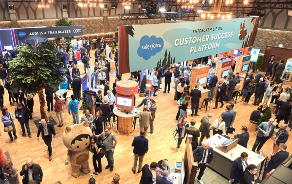 Salesforce - Basecamp Tour Deutschland